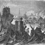 ラドヤード・キプリングの海山物語 「サラ・サンズ号の炎上」その1|火薬の樽を海へ投棄せよ!
