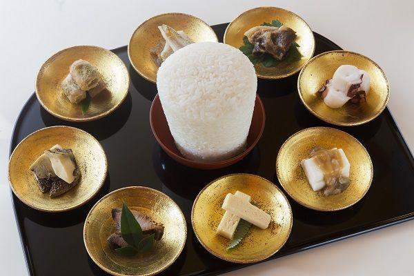 平安時代の六盛(ろくせい)料理